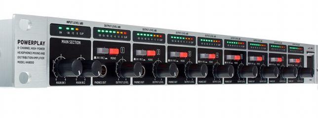 Amplificador de Headphones Behringer HA 8000 Novo na caixa