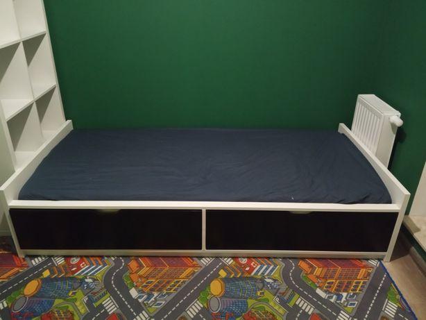 Łóżko IKEA z szufladami