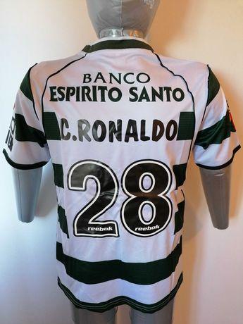 Camisola Ronaldo Sporting 2002/03