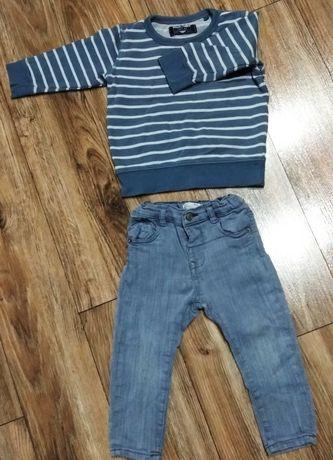 Джинсы + реглан (штаны,слинг,свитшот,пуловер )