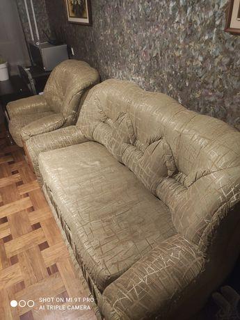 Диван + крісло мебель в аітальню