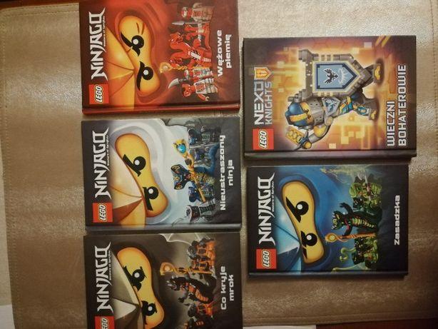 Książki Lego Ninjago + Nexo Knights