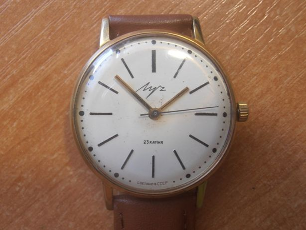 Советские часы Луч (CORNAVIN)