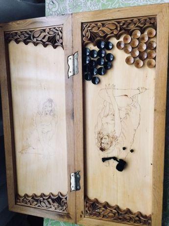Продам нарды ручной работы из дерева.