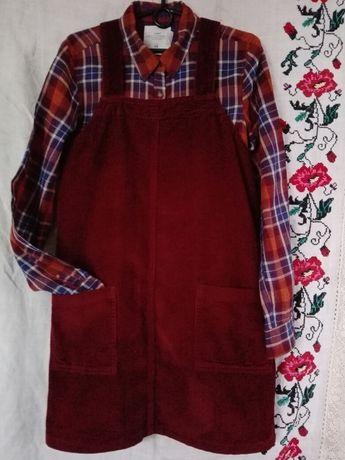 Вельветовый сарафан-платье Dorothy Perkins