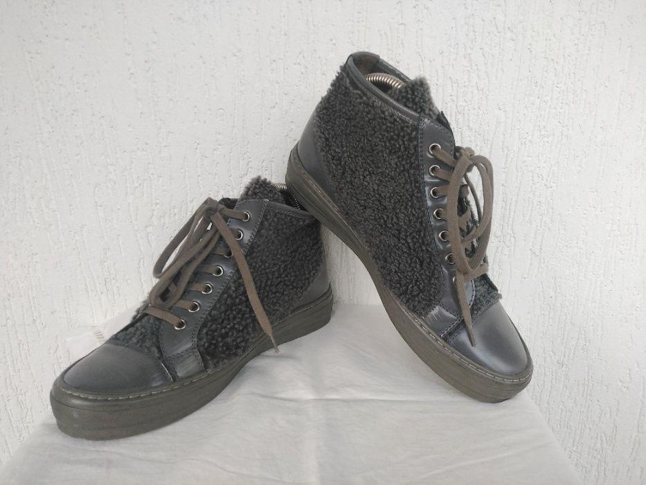 Брендовие кожанние ботинки AGL. Attilio Giusti Leombruni. р.37 Трускавец - изображение 1