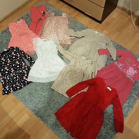 Ubrania dla dziewczynki rozmiar 110 (4-5 lat)