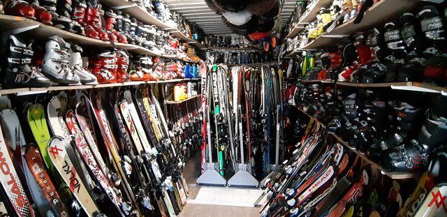 Narty,buty narciarskie