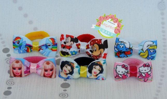 Gumki/frotki Elsa Pony Rainbowdash Minnie