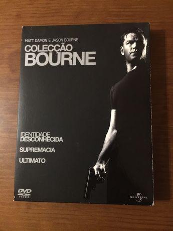 DVD Bourne Trilogia