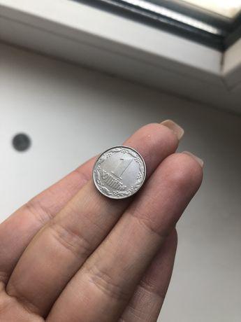 монета 1 копейка 1992