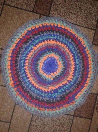 коврик вязаний