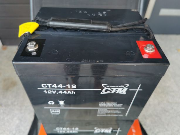 Akumulatory żelowe Niemieckie CT 44-12