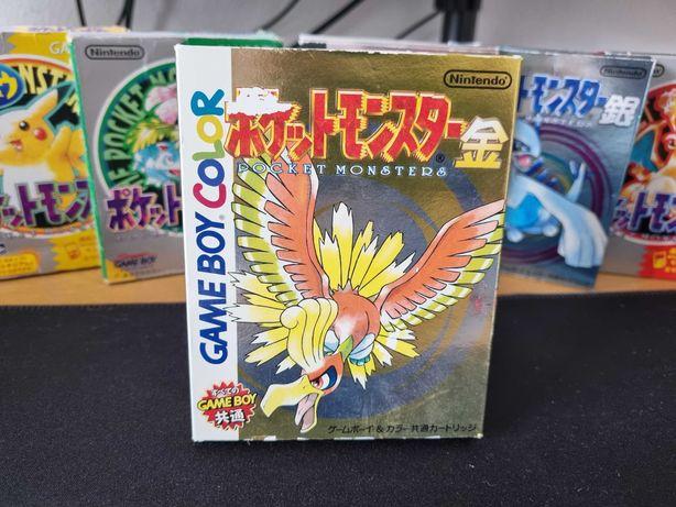 Pokémon Gold (JPN) - Game Boy Color / Advance