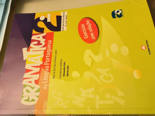 Gramática 2° Ciclo LÍNGUA PORTUGUESA (5° e 6° ano)