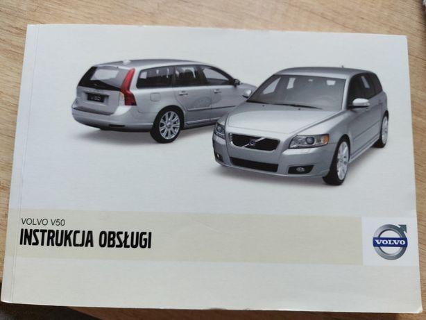 Instrukcja obsługi Volvo V50
