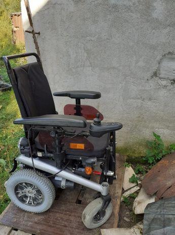 Wózek inwalidzki Elektryczny Mało Używany GRYBÓW ! bischoff & bischoff