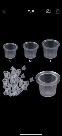 Пластиковые капсы для пигмента