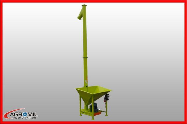 Przenośnik ślimakowy pionowy żmijka pionowa Adraf promocja fi 140 mm