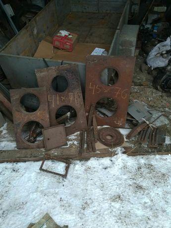 Продам металеві плити для груби