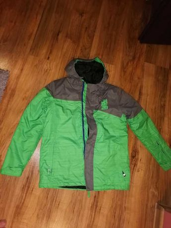 Zimowa kurtka narciarska chłopięca 158 cm