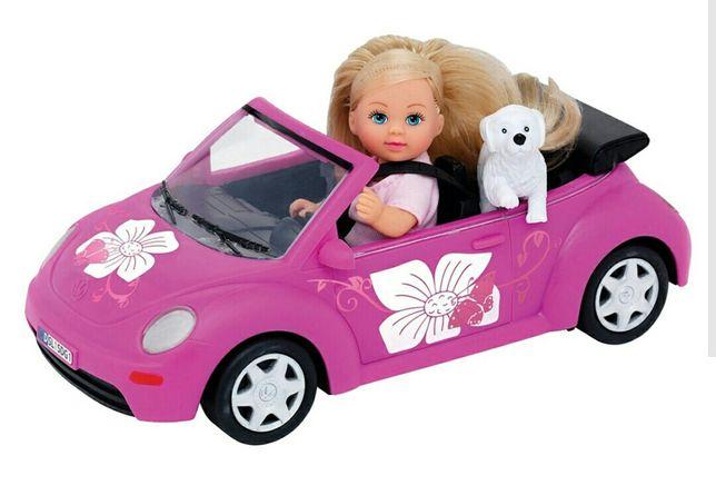 Барби Симба машина и собачка!