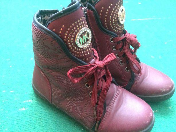 ботиночки весна-осень 33р