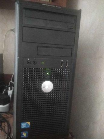 4 ядра dell optiplex 780  intel quad q9400 4 gb ddr3. 1 Tb +250 gb