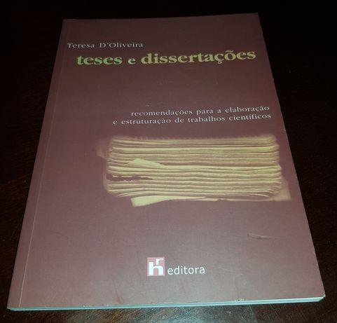 Teses e dissertações - Teresa D'Oliveira