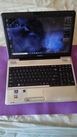 Portátil Toshiba L500 com disco ssd