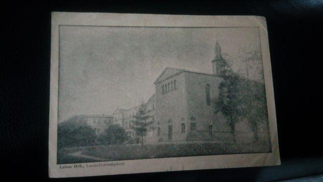 Loben Lubliniec pocztówka Kościół Seminarium