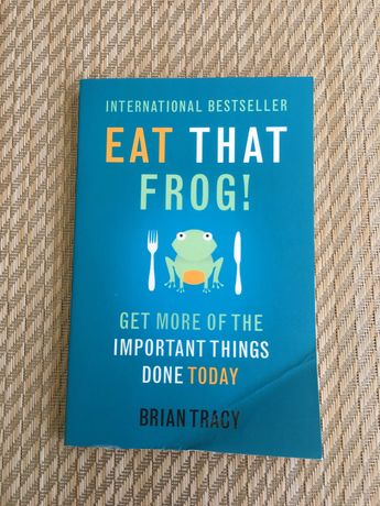 Livro Eat That Frog - Brian Tracy
