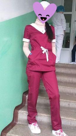 Продам хирургичку, бордового цвета