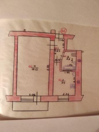 Продам 1- комнатную квартиру, Хрущевка