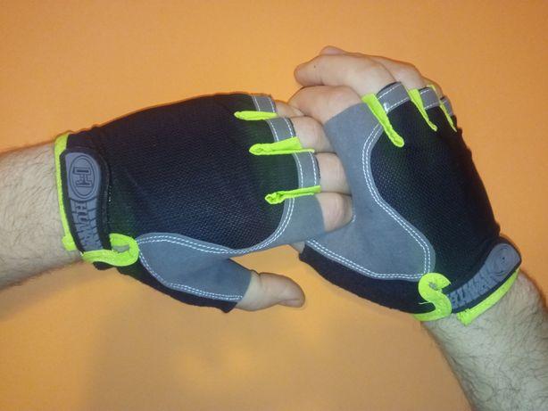 Защитные перчатки для тренировок на турнике, велосипеде в спорт зале