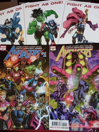 Avengers - zeszyty 1-2
