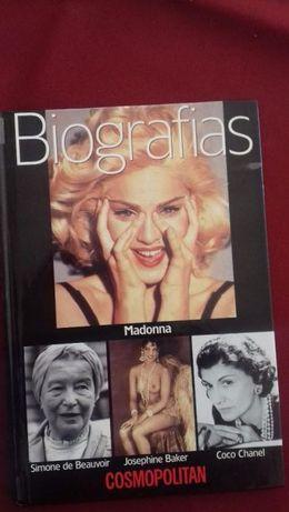 Madonna Biografia Livro como novo