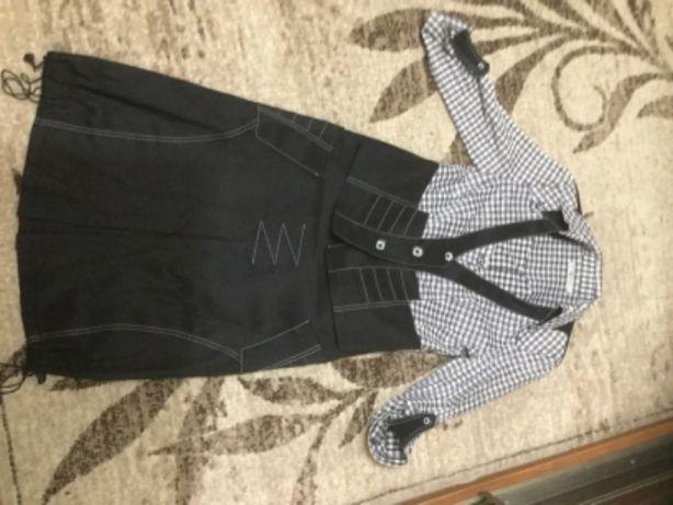 Строгий костюм,юбка,блузка,рубашка нарядный,красивый