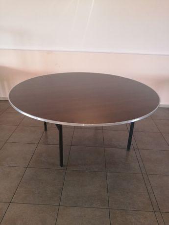 stół okrągły 180 cm składany