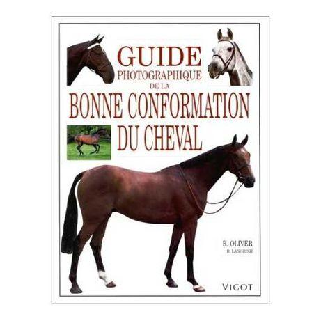 """Livro cavalo """"Guide photographique de la bonne conformation du cheval"""""""