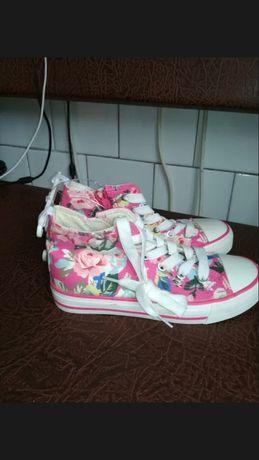Новые стелька 20 см, р.31 кеды для девочки, кроссовки, обувь