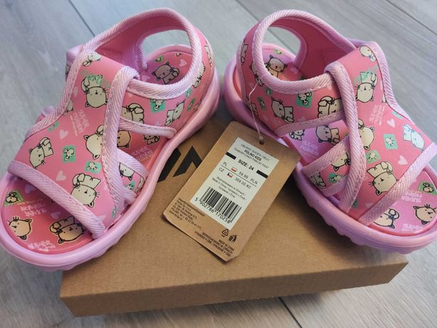 Sandałki sportowe dla dziewczynki