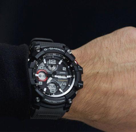 Часы Casio G-shock GSG-100-1A8 Mudmaster Solar новые оригинал