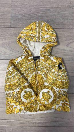 Детская куртка versace