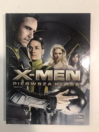 "Książka + film ""X-men Pierwsza klasa"" DVD"