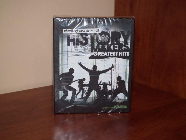DELIRIOUS? - History Makers 2CD+DVD+książeczka-nowa, folia