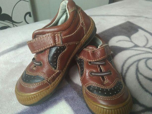 Кроссовки- туфли кож. 17 см