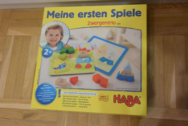 Gra HABA 2+ Moja Pierwsza Gra Krasnoludki