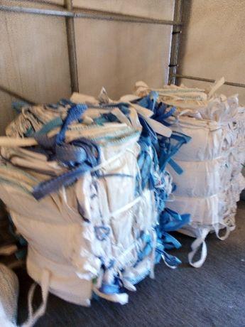 Worki Big Bag Uzywane na 1000kg Ziarna Zboza Soji Czyste