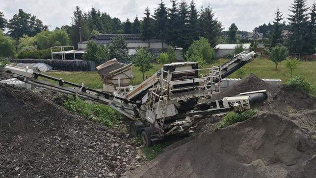 Przesiewacz pokładowy Metso sw348 kruszywo piasku ziemi bębnowy